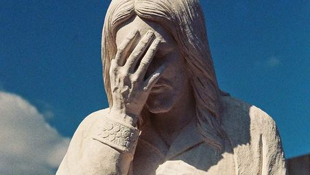 Image result for jesus facepalm gif